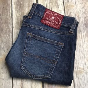 Lucky Brand Jeans Midrise Flare Classic 6 28 x 32